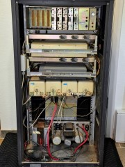 Overview of the repeater cabinet